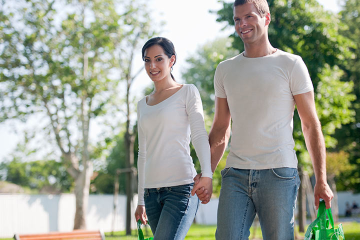White t-shirts Costumes for Couples