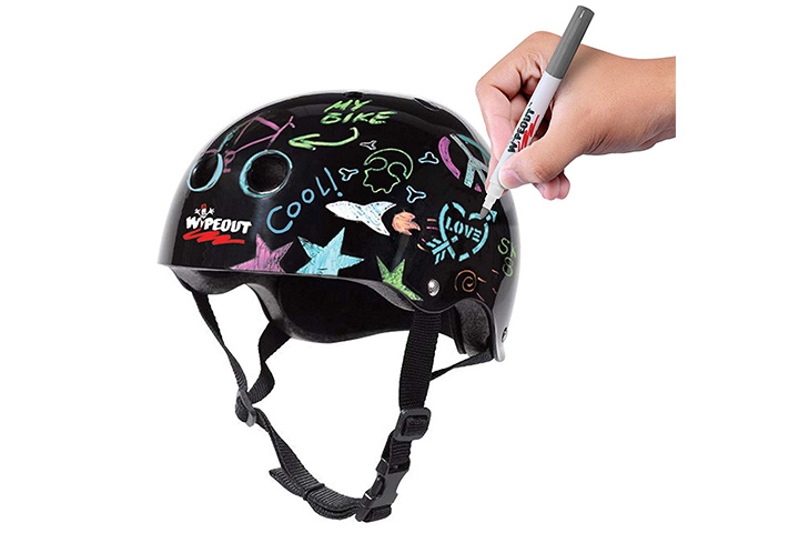 Wipeout Dry Erase Kids Helmet