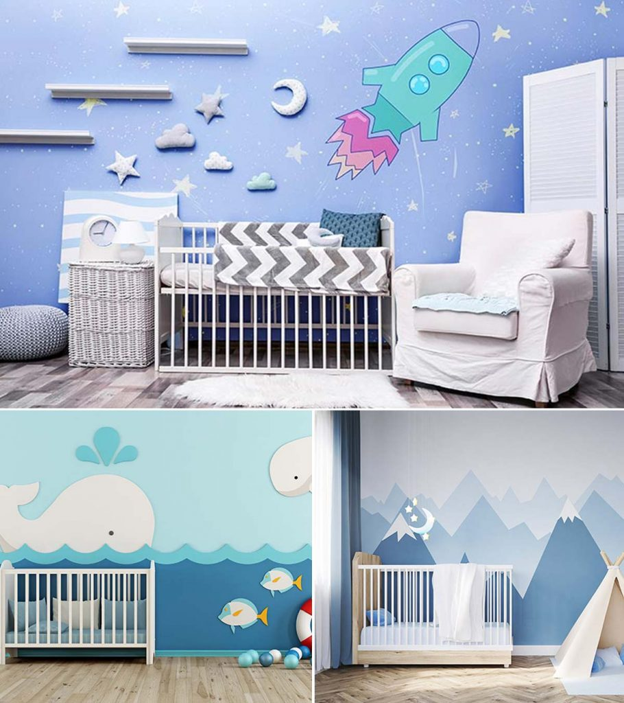 15 Cute Baby Boy Nursery Room Ideas