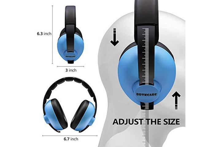BBTKCARE baby ear protection noise canceling headphones