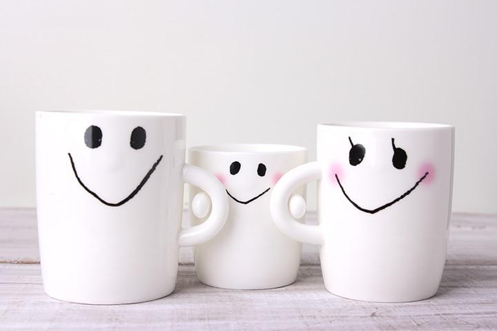 Lovely customized mugs