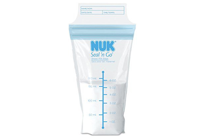 NUK Seal N' Go Breast Milk Bags