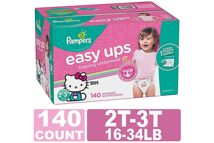 Pampers Easy Ups Training Underwear