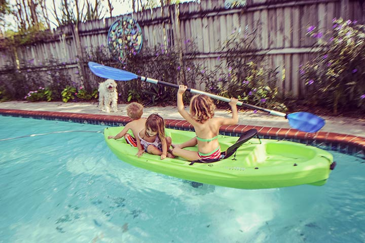 Pool kayak