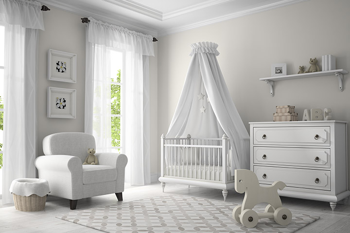 Prince theme baby room idea