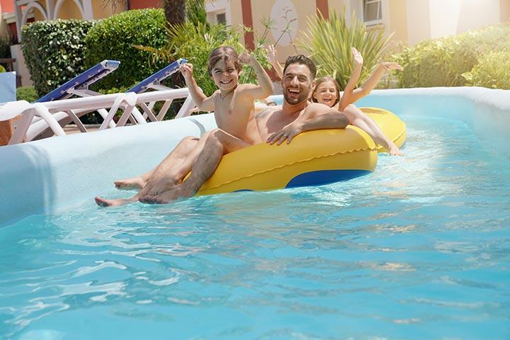 Push the floatie