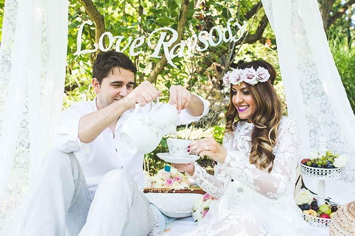 Recreate your wedding night