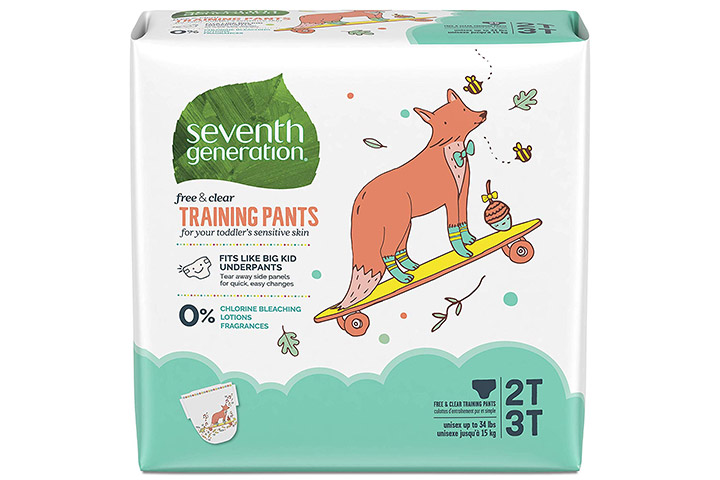 Seventh Generation Toddler Potty Training Pants