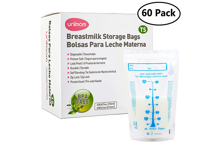 Unimom Breast Milk Storage Bags