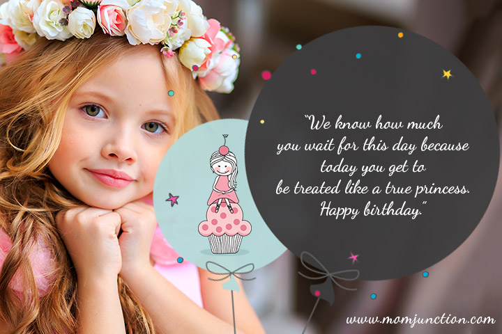Happy Birthday to My Princess
