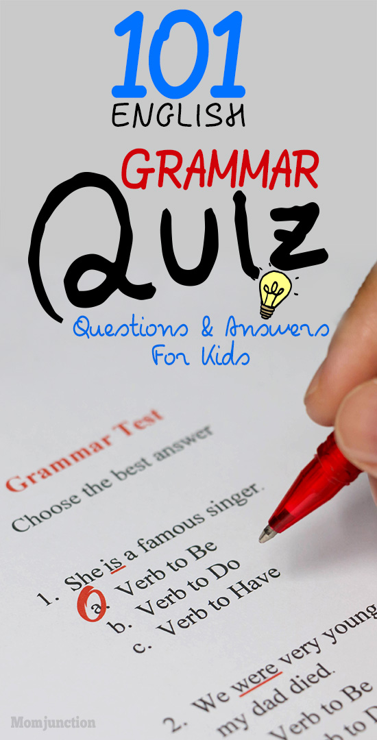 101 English Grammar Quiz Questions For Kids With Answers-1013