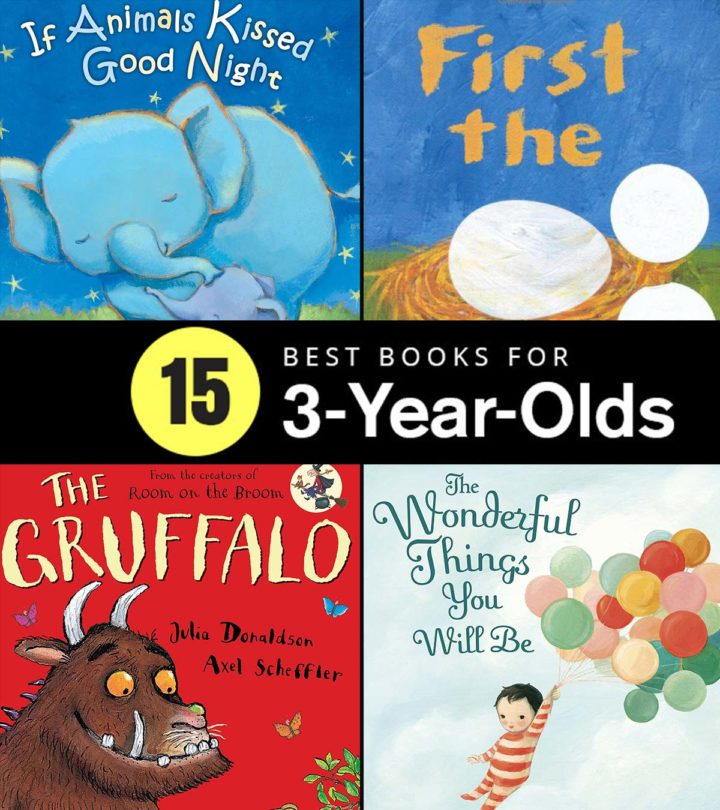 15 Best Books for 3-Year-Olds