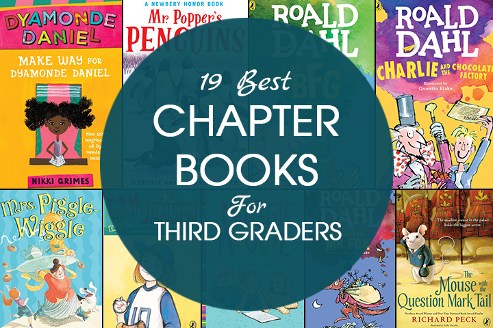 19 Best Chapter Books For Third Graders