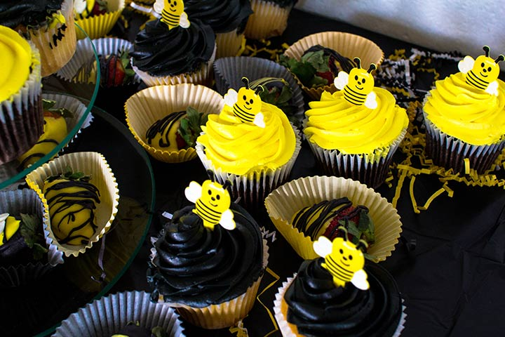 A bee theme