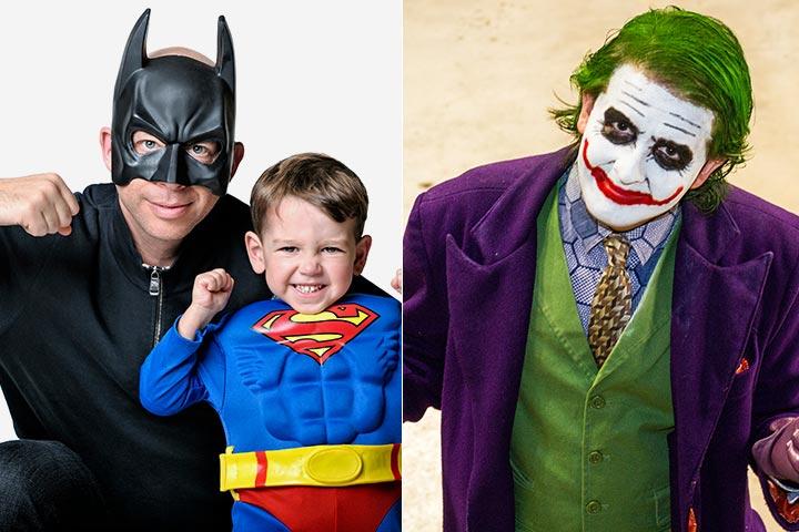 Batman family costume