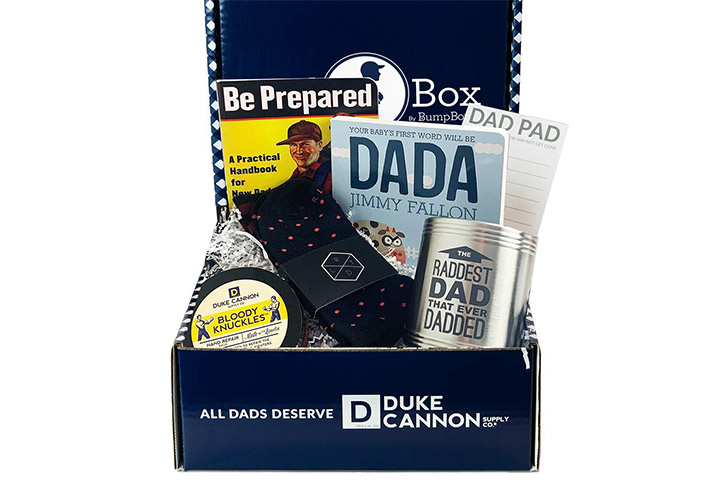 Bump Boxes New Dad To Be Gift Box