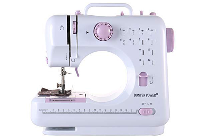 DONYER POWER Electric Sewing Machine Portable Mini 4.3