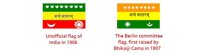Evolution Of The Indian National Flag