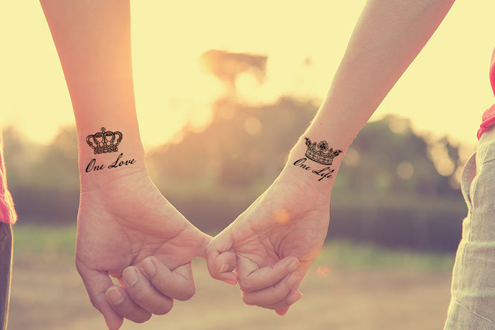 Forever love tattoo for Couples