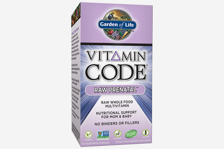 Garden Of Life Vitamin Code Raw Prenatal Multivitamin