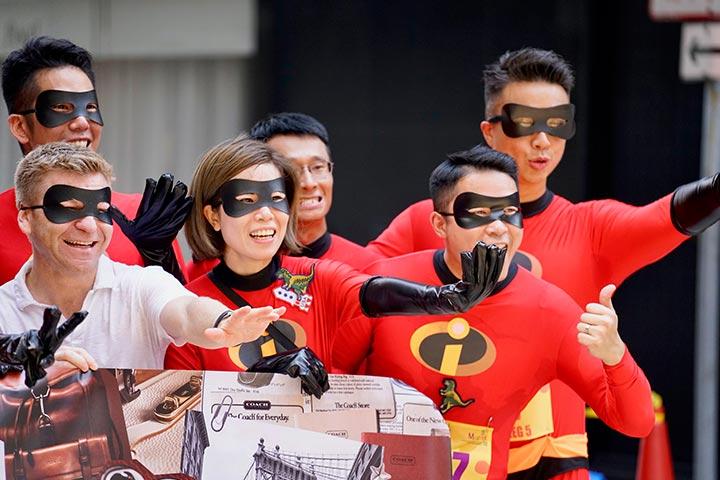 Incredibles family costume idea