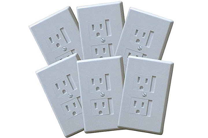 Safety Innovations Self-closing Outlet Covers