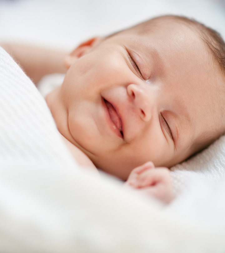 Why Do Babies Smile In Their Sleep