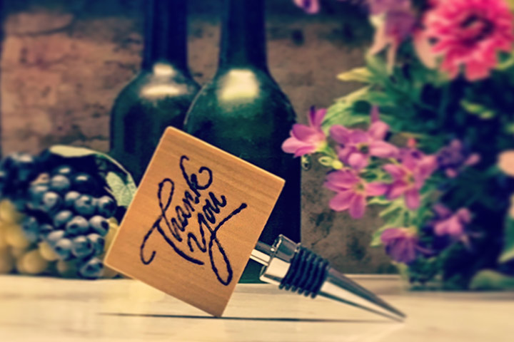 Wine and bottle stopper