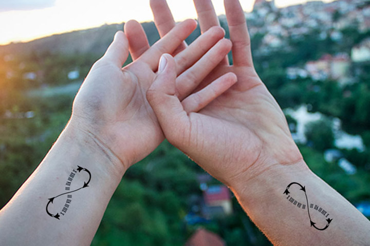 infinity tattoo designs for couples