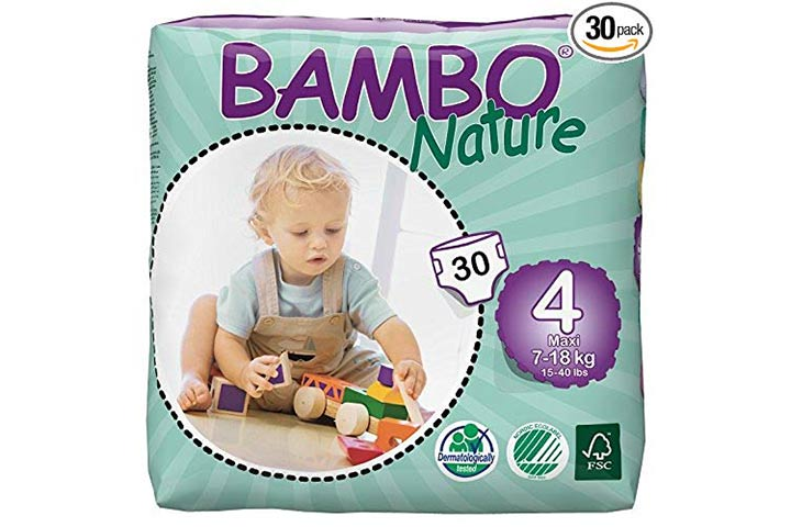1. Bambo Nature Eco-Friendly Baby Diapers