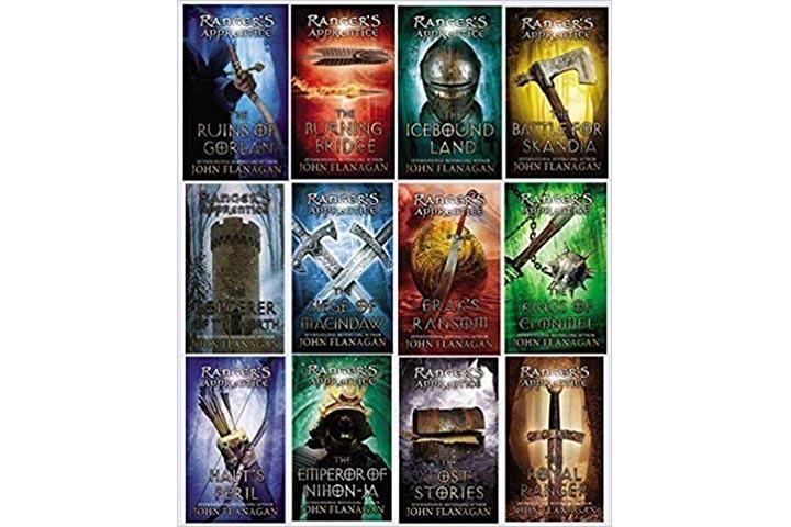 14. The Ranger's Apprentice Series