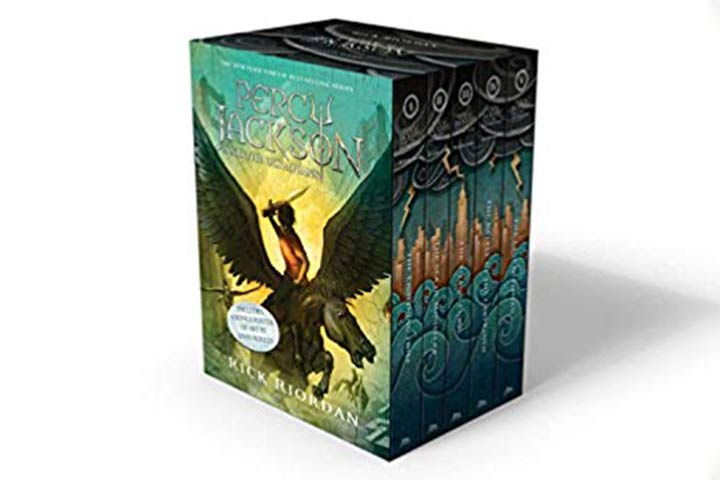2. Percy Jackson & The Olympians Series
