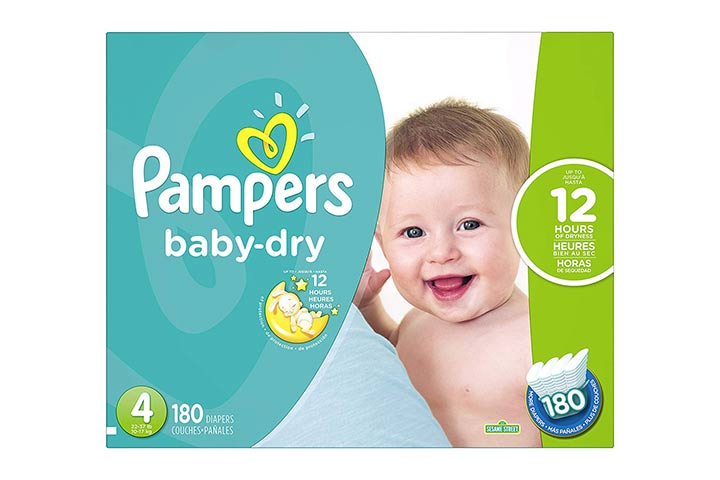 3. Pampers Baby Dry