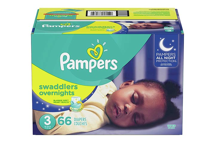 5. Pampers Swaddlers Overnights