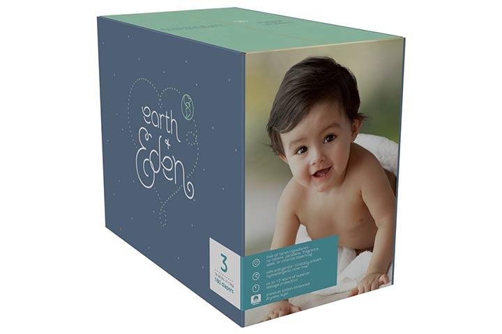 9. Earth + Eden Baby Diapers