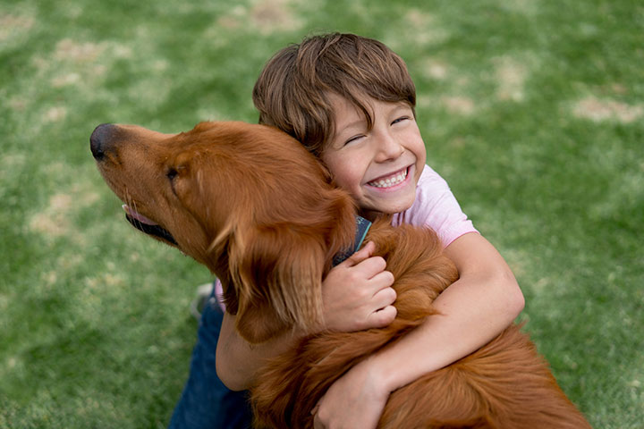 Are pets helpful or harmful to kids