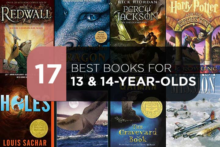 17 best books for 13 and 14 year old children To Read