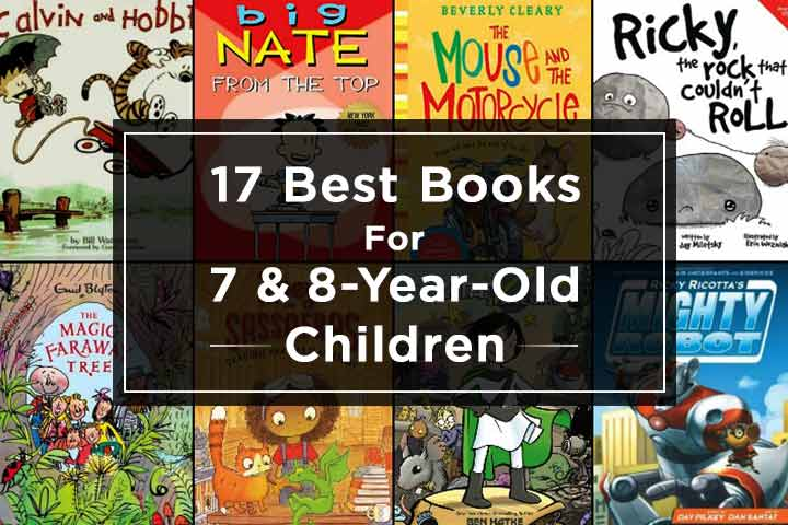 Best Books For 7 And 8-Year-Old Children