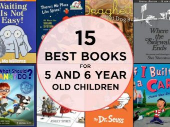 15 Best Books for 5 and 6 Year Old Children