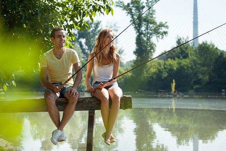 Go fishing: