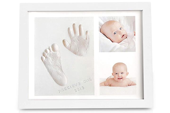 KeaBabies Baby Handprint Footprint Keepsake Kit