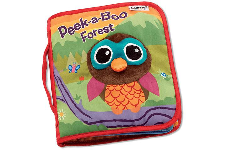 Lamaze Peek-A-Boo Forest, Fun Interactive Baby Book