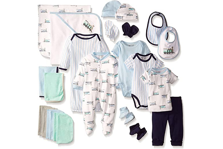 Luvable Friends Unisex Baby Layette Gift Cube