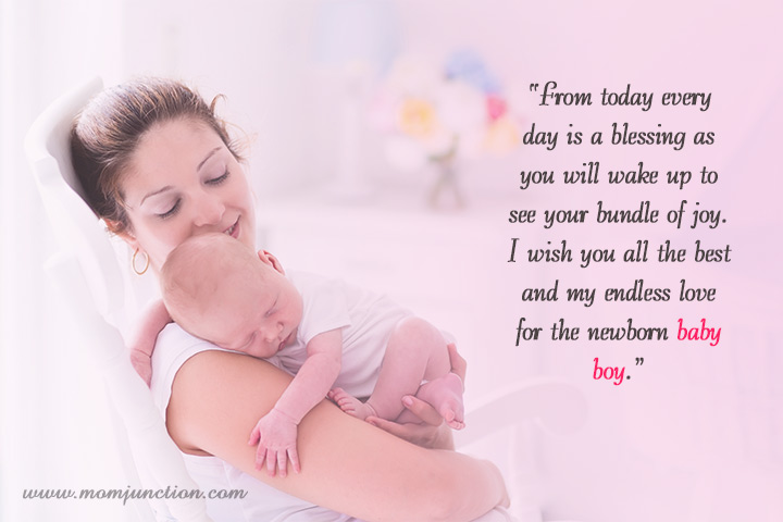 Wishes for a Newborn baby boy