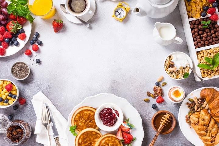 Pancakes and pajamas Party