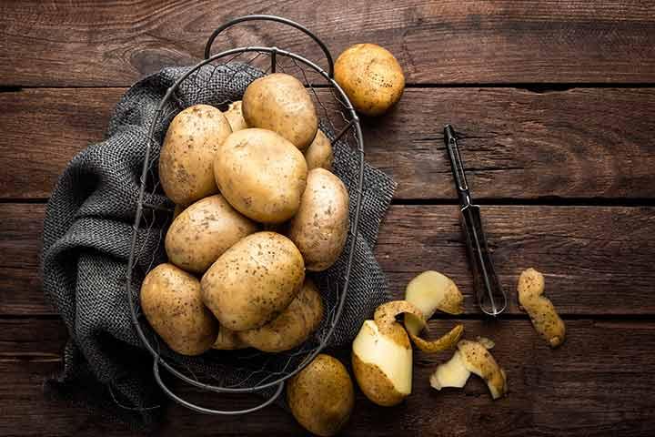 Potato-rich diet 'may increase pregnancy diabetes risk'