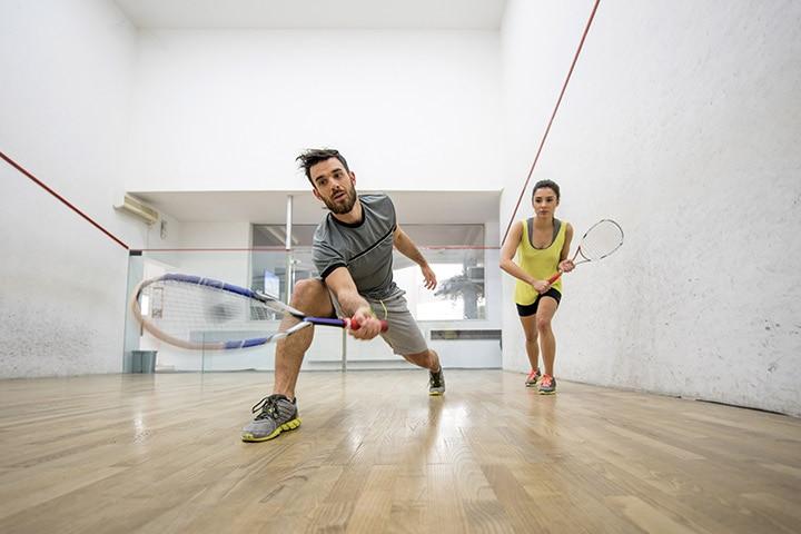 Try an indoor sport: