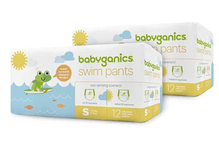 Babyganics Disposable Swim Pants