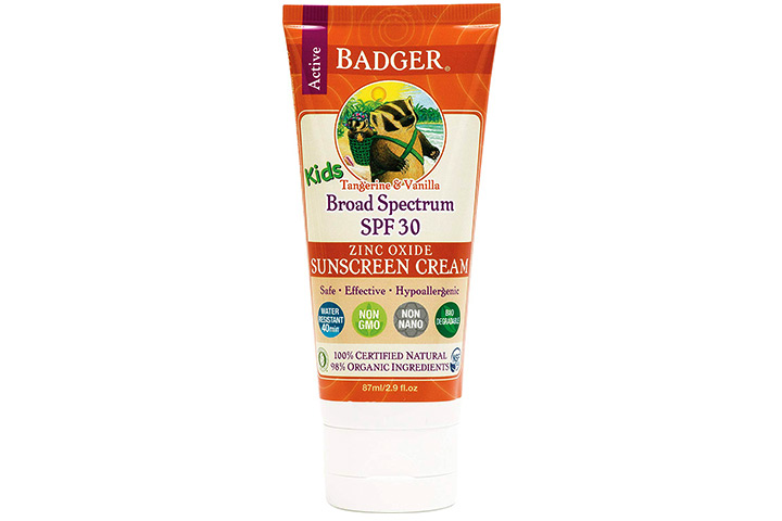 Badger – SPF 30 Kids Sunscreen Cream