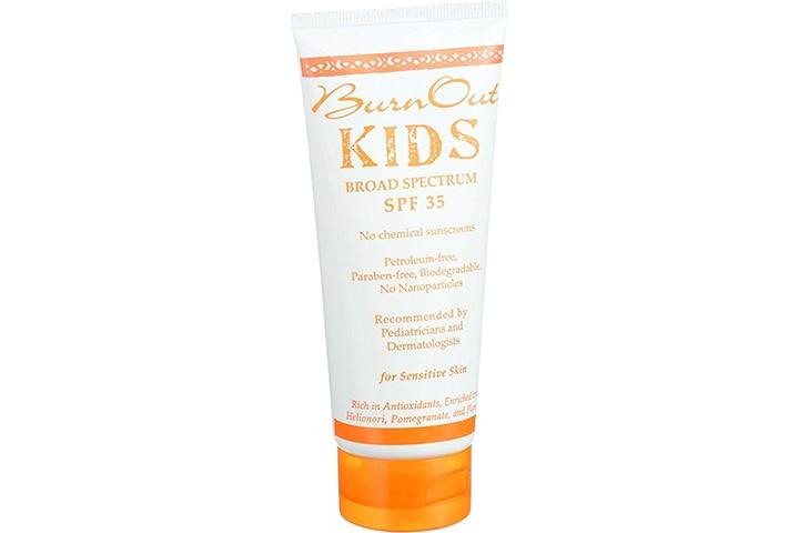 Burnout Kid Sunscreen SPF